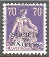 Switzerland Scott 2-O-24a Used