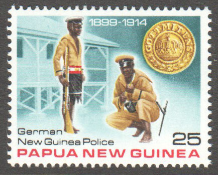 Papua New Guinea Scott 489 MNH