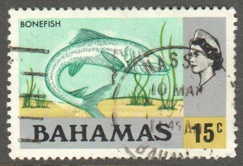 Bahamas Scott 324 Used