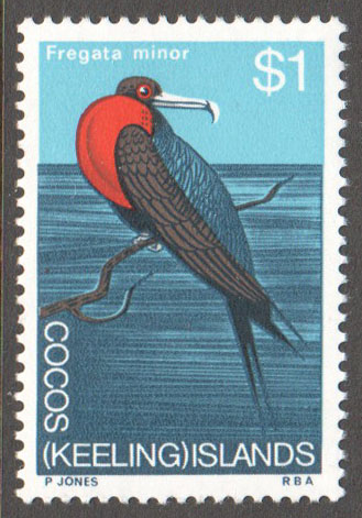 Cocos (Keeling) Islands Scott 19 MNH