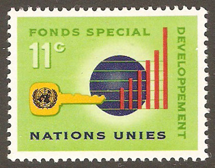 United Nations New York Scott 138 MNH