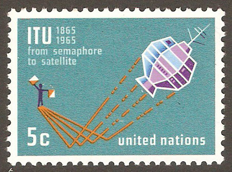 United Nations New York Scott 141 MNH