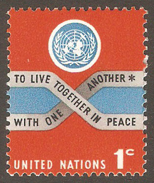 United Nations New York Scott 146 MNH