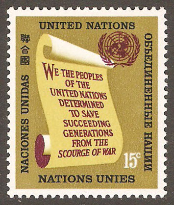 United Nations New York Scott 147 MNH