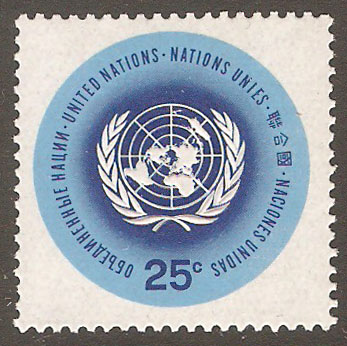 United Nations New York Scott 149 MNH