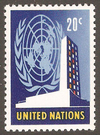 United Nations New York Scott 148 MNH