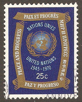 United Nations New York Scott 211 Used