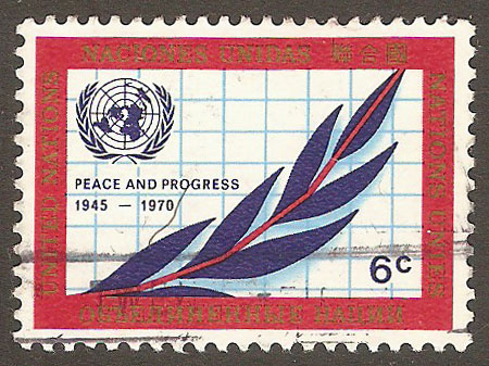 United Nations New York Scott 209 Used