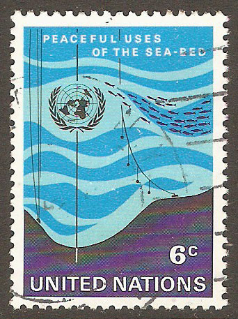 United Nations New York Scott 215 Used