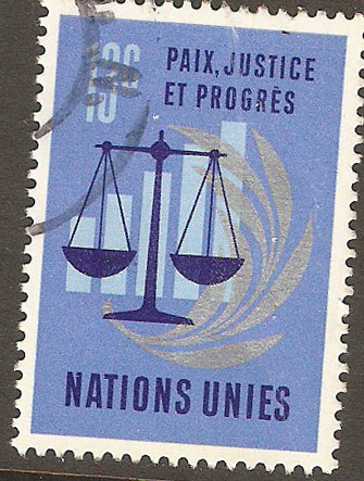 United Nations New York Scott 214 Used