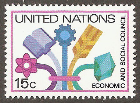 United Nations New York Scott 341 MNH