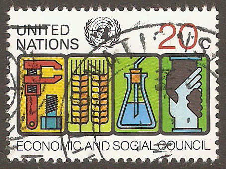 United Nations New York Scott 342 Used