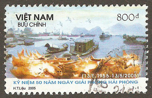 N. Vietnam Scott 3249 Used