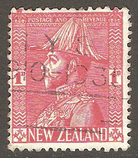 New Zealand Scott 184 Used
