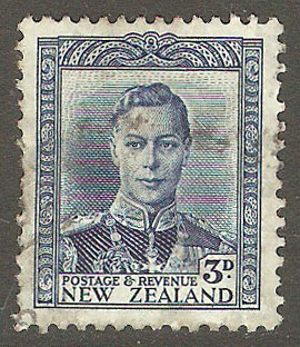 New Zealand Scott 228C Used
