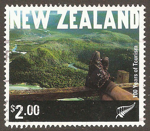New Zealand Scott 1727 Used