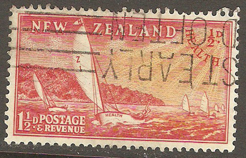 New Zealand Scott B38 Used