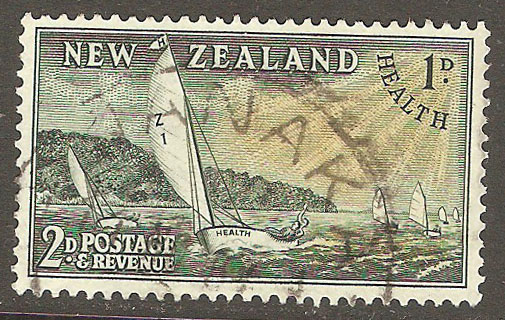 New Zealand Scott B39 Used