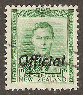 New Zealand Scott O88 Used