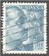 Spain Scott 695a Used