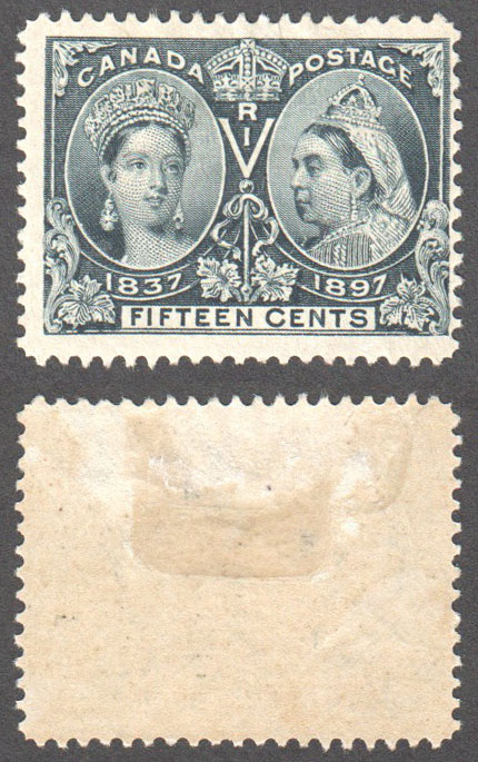 Canada Scott 58 Mint F (P) - Click Image to Close