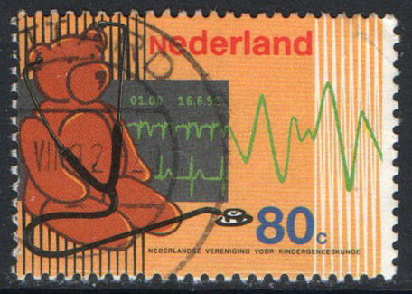 Netherlands Scott 815 Used - Click Image to Close