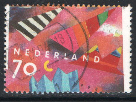 Netherlands Scott 824 Used - Click Image to Close