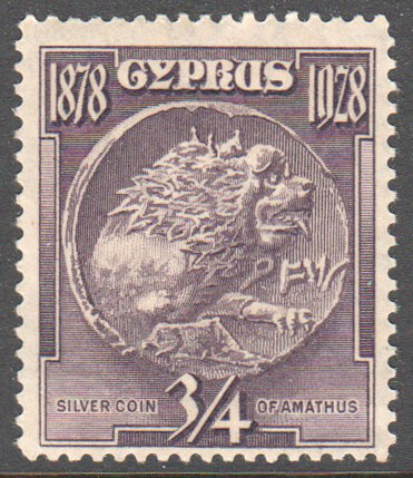 Cyprus Scott 114 Mint - Click Image to Close