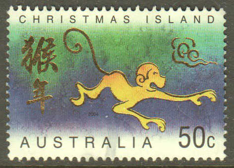 Christmas Island Scott 445 Used - Click Image to Close