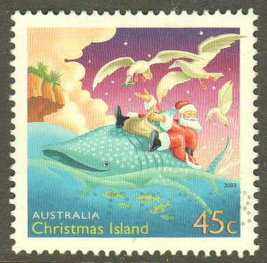 Christmas Island Scott 443 Used - Click Image to Close