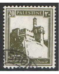 Palestine Scott 77 Used