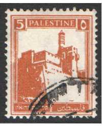 Palestine Scott 67 Used