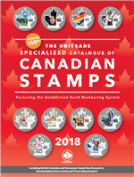 The 2018 Unitrade Specialized Catalogue of Canadian Stamps