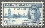 Falkland Islands Scott 98 Mint