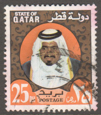 Qatar Scott 357 Used