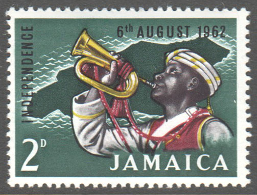 Jamaica Scott 181 Mint