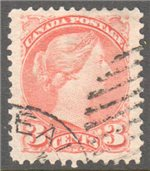 Canada Scott 37 Used VF
