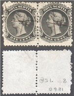 Nova Scotia Scott 8 Used Pair VF (P)