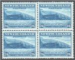 Newfoundland Scott 210 Mint VF Block (P671)