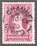 Newfoundland Scott 166 Used VF (P14x13.8)