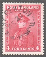 Newfoundland Scott 189 Used VF