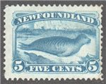 Newfoundland Scott 53 Used F