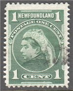 Newfoundland Scott 80a Used F