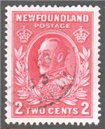 Newfoundland Scott 185 Used VF