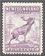 Newfoundland Scott 257 Used F