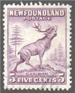 Newfoundland Scott 257 Used VF
