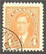 Canada Scott 234 Used VF