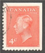 Canada Scott 306bs Used VF