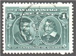 Canada Scott 97 Used VF