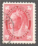 Canada Scott 69 Used VF